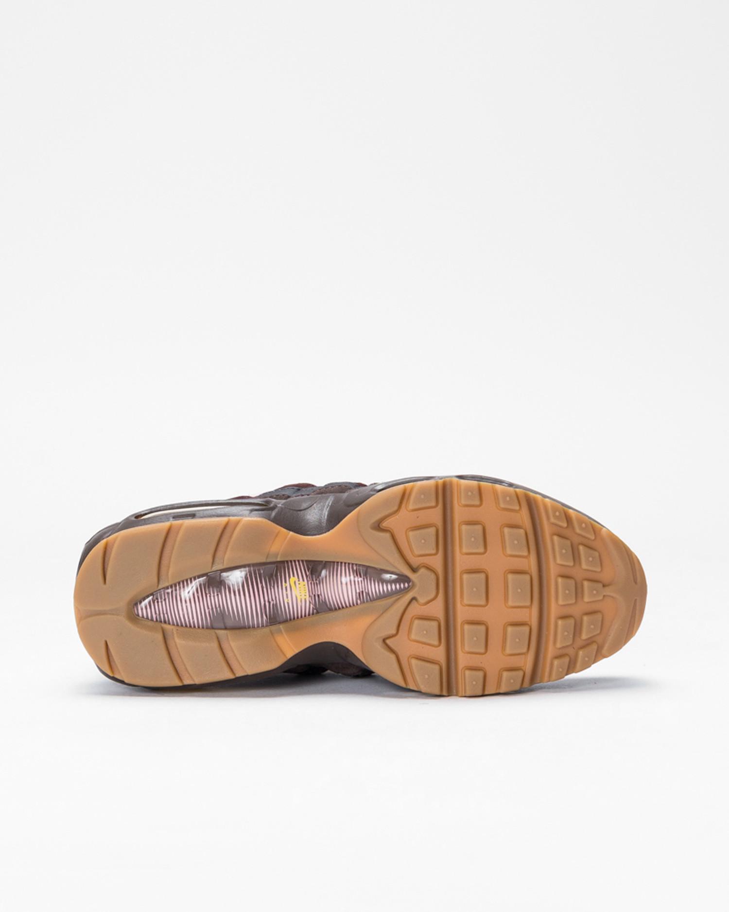 Nike Wmns Air Max 95 velvet brown/opti yellow-lt british tan
