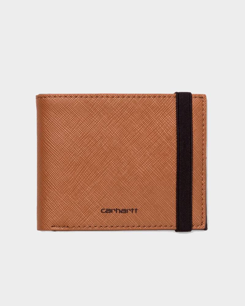 Carhartt Carhartt Coated Wallet Hamilton Brown/Black