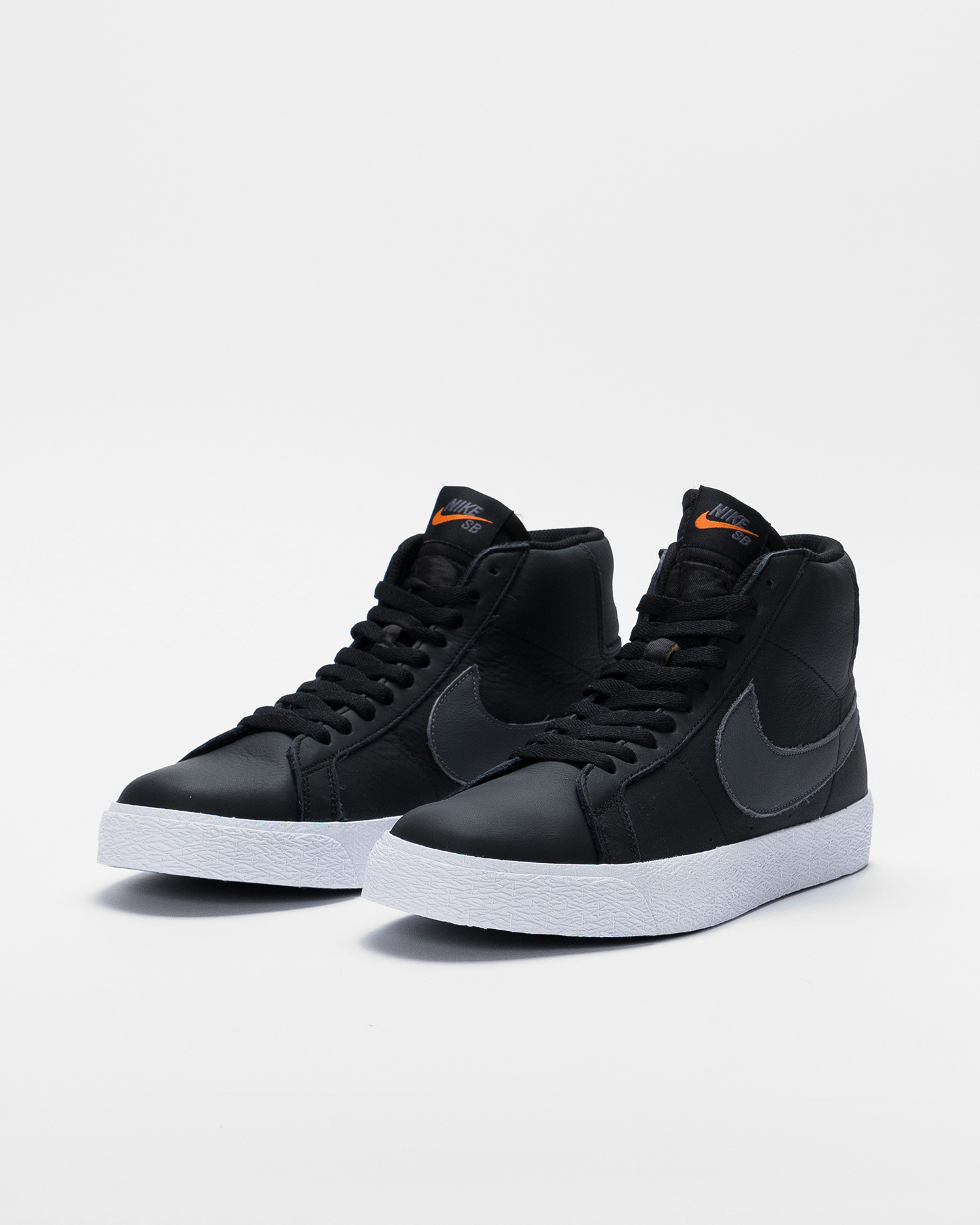 Nike SB Zoom Blazer Mid Iso Black/Dark Grey-black-white
