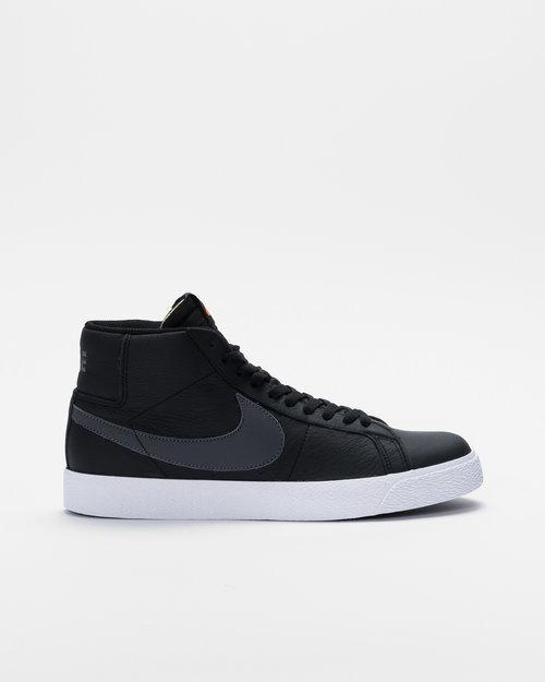 Nike Nike SB Zoom Blazer Mid Iso Black/Dark Grey-black-white