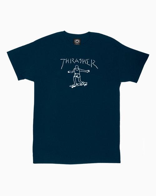 Thrasher Thrasher Gonz T-Shirt Navy