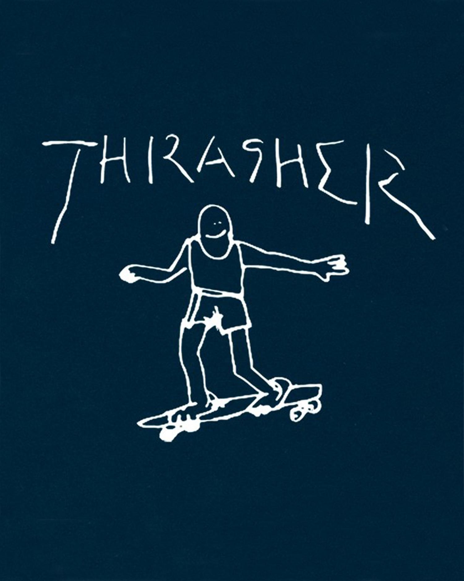 Thrasher Gonz T-Shirt Navy