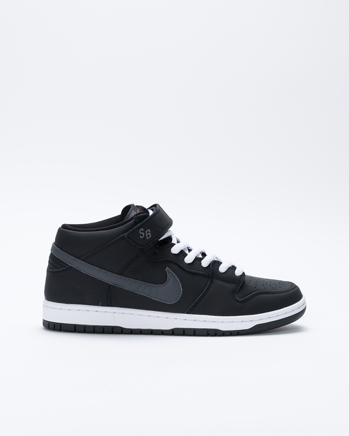 Nike Nike SB Dunk Mid Pro ISO Black/Dark Grey-Black-White