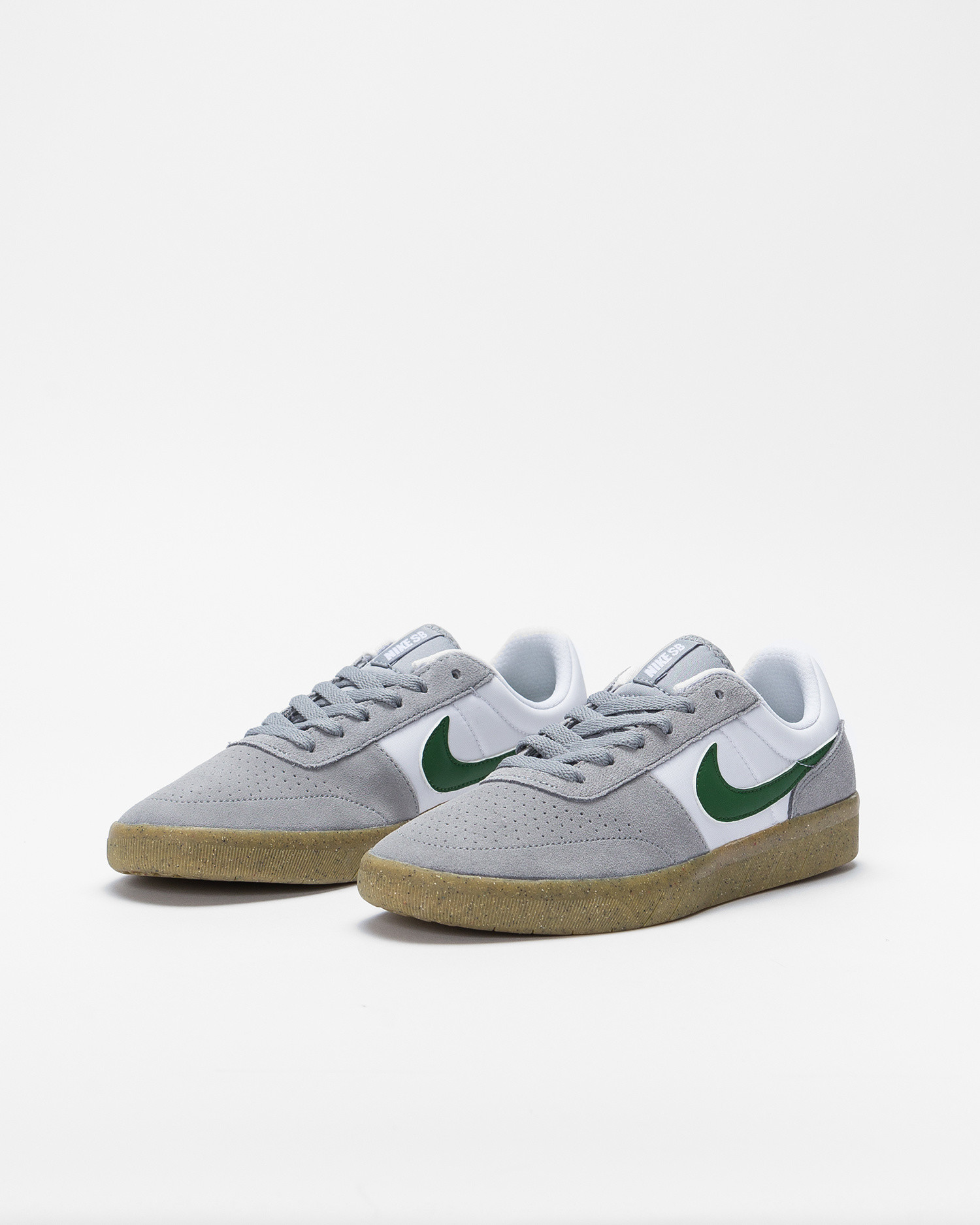 Nike SB team classic Particle grey/forest green-particle grey