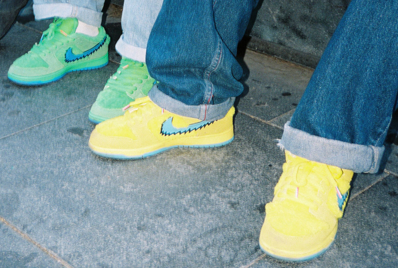 24.07.2020 - Nike SB Dunk Low x Grateful Dead 'Green' & 'Yellow'