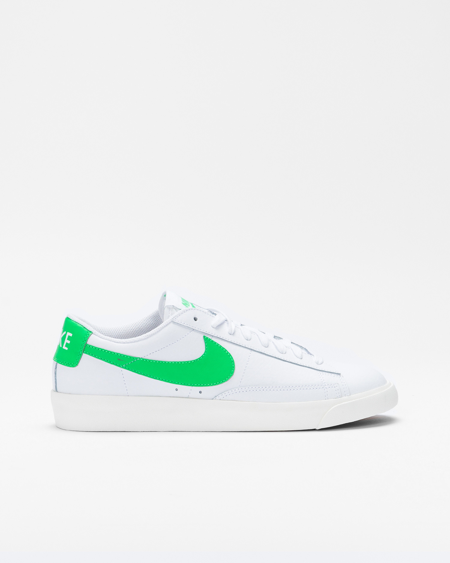 Nike Blazer Low Leather White/Green spark-sail