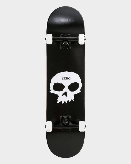 ZERO Zero Single Skull Black/White Complete 8