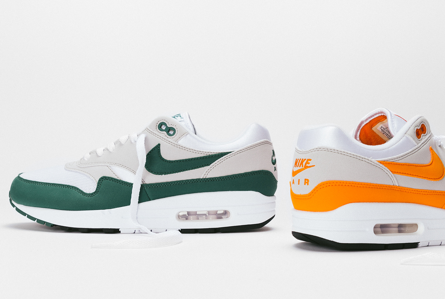 30.07.20 - Nike Air Max 1 Magma Orange and Evergreen Aura