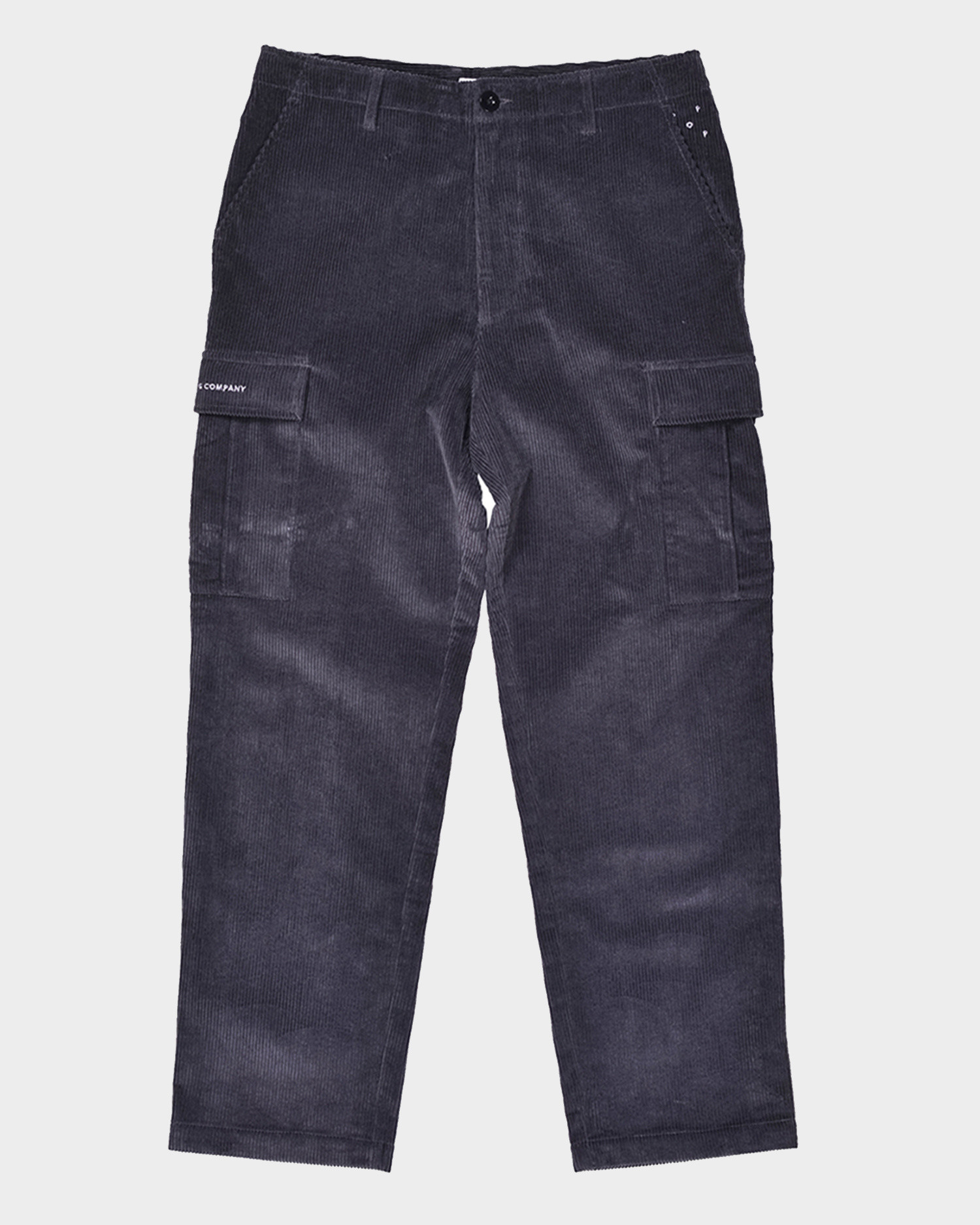 Pop Trading Company Corduroy Cargo Pants Anthracite