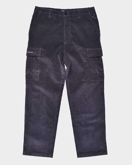 Pop Trading Co Pop Trading Company Corduroy Cargo Pants Anthracite