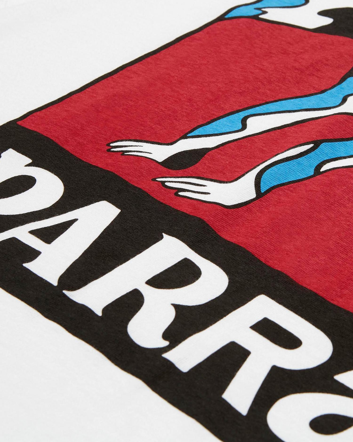 Parra Dog Tail Static T-Shirt White