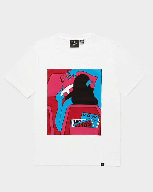Parra Parra How To Live Now T-shirt White