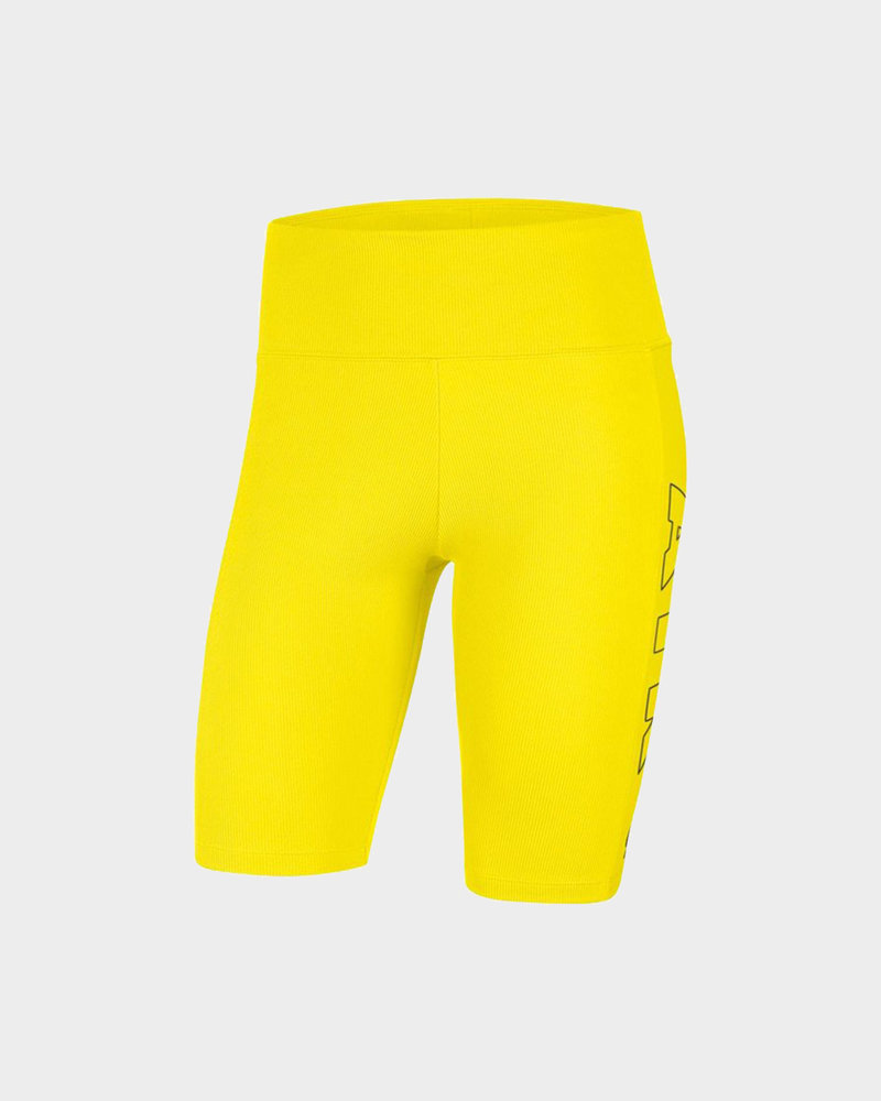 Nike Nike Wmns nsw air bike short Opti yellow