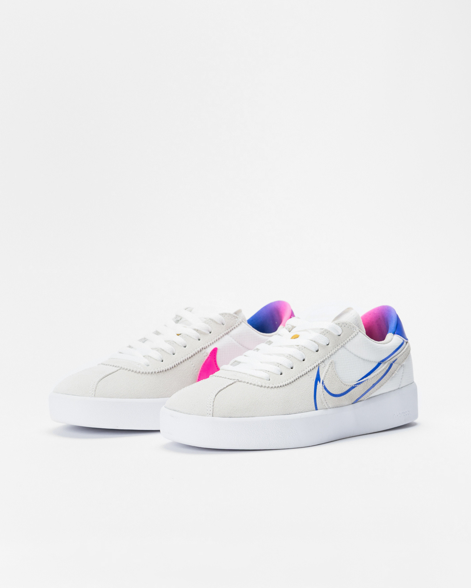 Nike Sb Bruin React Summit White/Racer Blue-Pink Blast