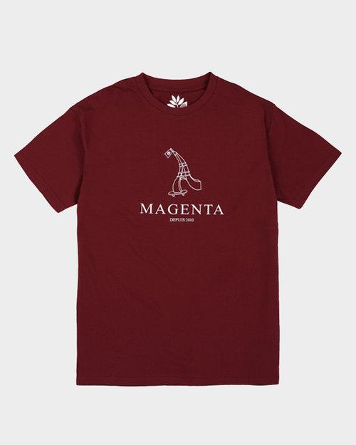Magenta Magenta Depuis 2010 TEE BURGUNDY