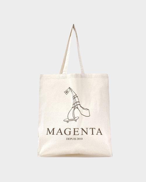 Magenta Magenta Depuis 2010 TOTE bag natural