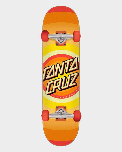 Santa Cruz Santa Cruz Complete Gleam Dot Full Orange 8 inch