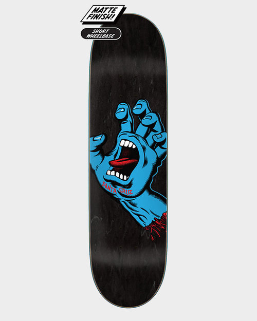 Santa Cruz Santa Cruz Screaming Hand Deck 8.6 Black