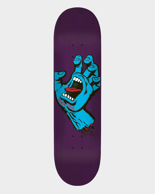 Santa Cruz Santa Cruz Screaming Hand Deck 8.375 Purple