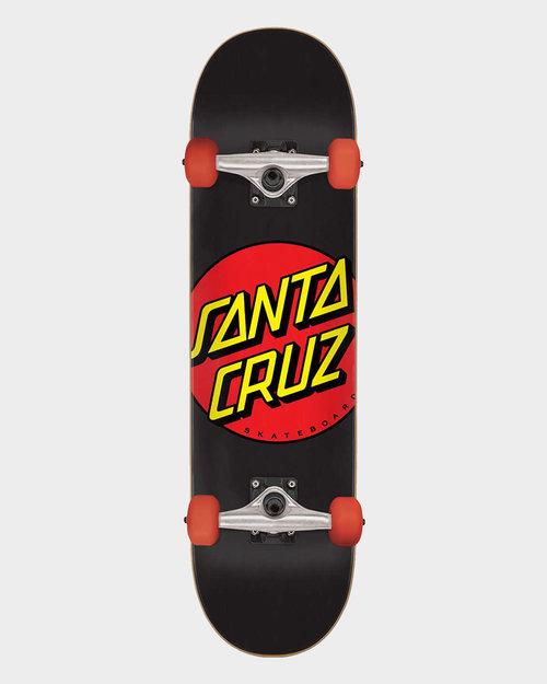 Santa Cruz Santa Cruz Classic Dot Micro Black-Red 7.25