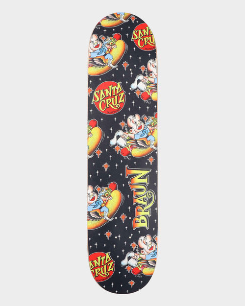Santa Cruz Santa Cruz Braun Hotdog Everslich Black Yellow