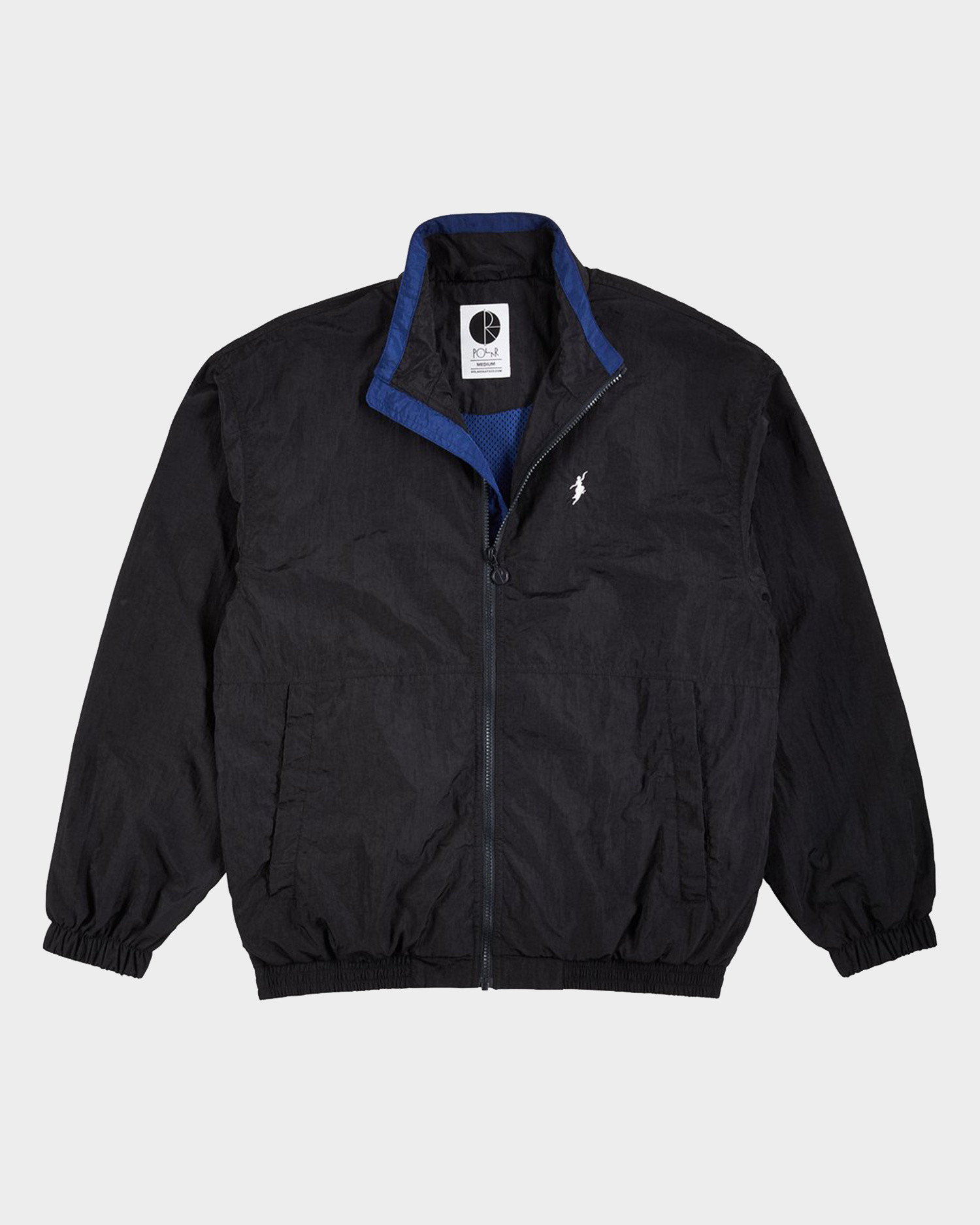 Polar Track Jacket Black/Blue