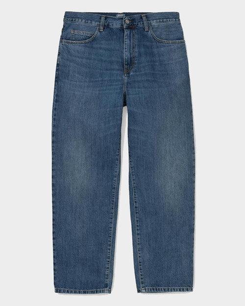 Carhartt Carhartt Smith Pant Cotton Blue Mid Worn Wash No Length