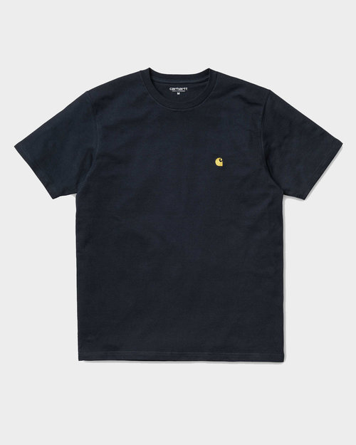 Carhartt Carhartt Chase T-shirt Dark Navy/Gold