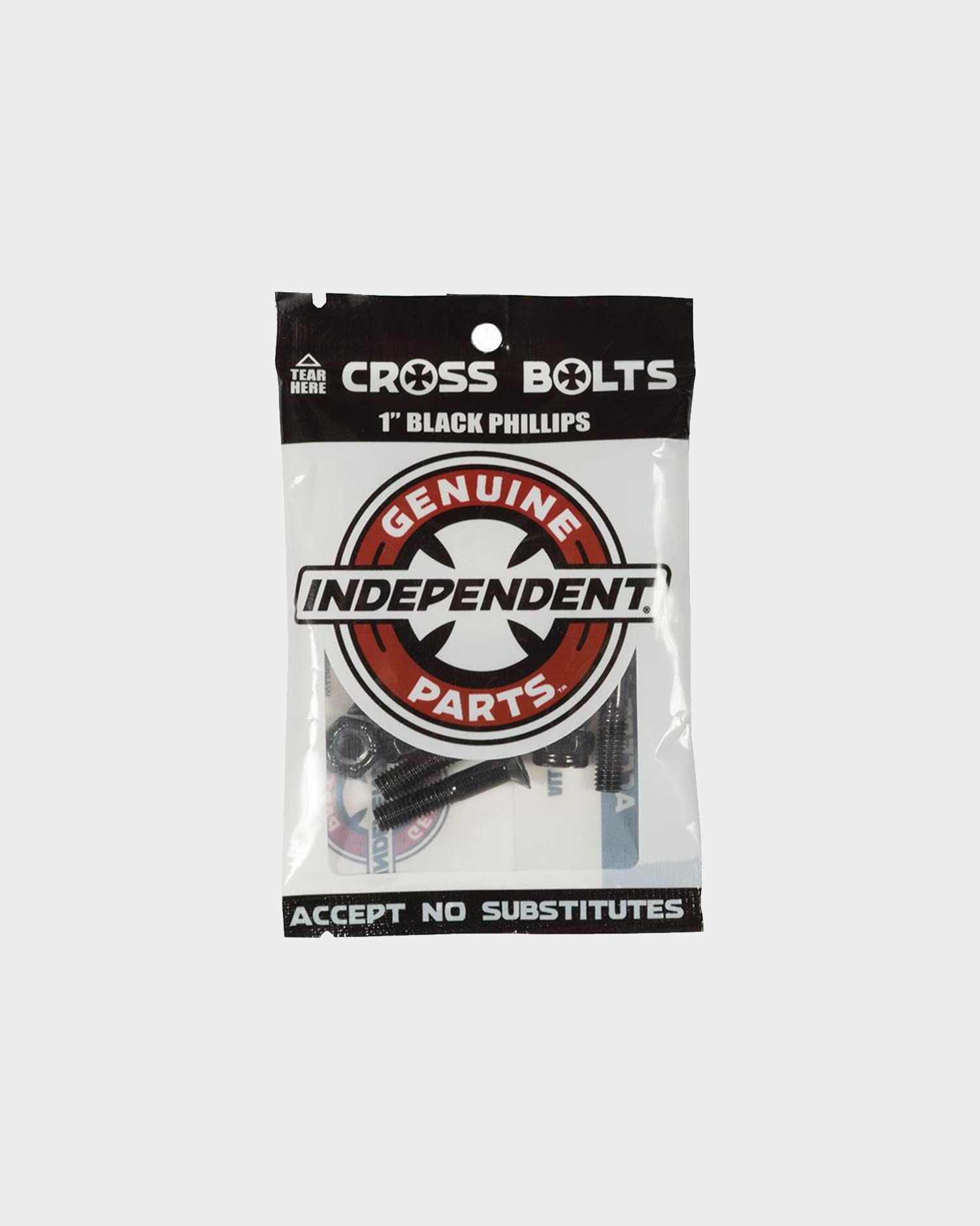 Independent Cross Philips 1 Bolts Black