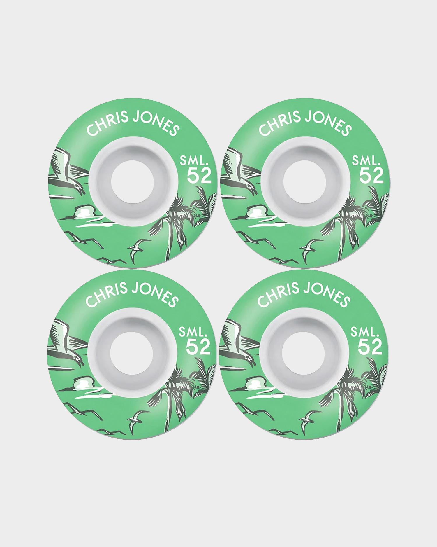 SML wheels Chris Jones 52mm