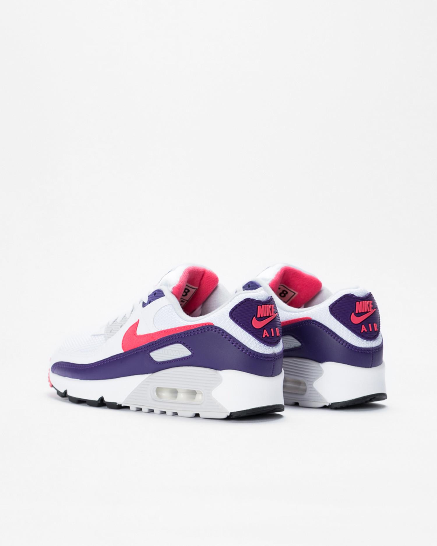 W Nike air max III White/eggplant-flare-zen grey