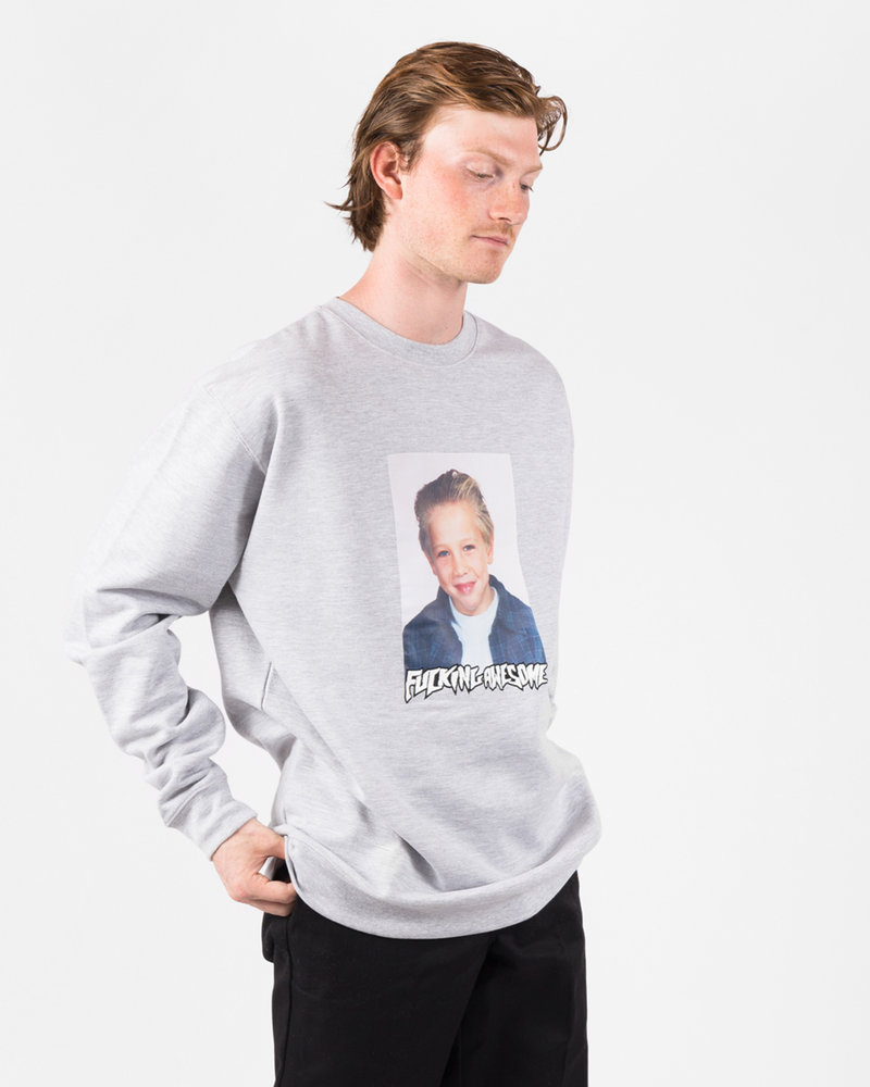 Fucking Awesome Fucking Awesome Vincent Class Photo Crewneck French Terry Heather Grey