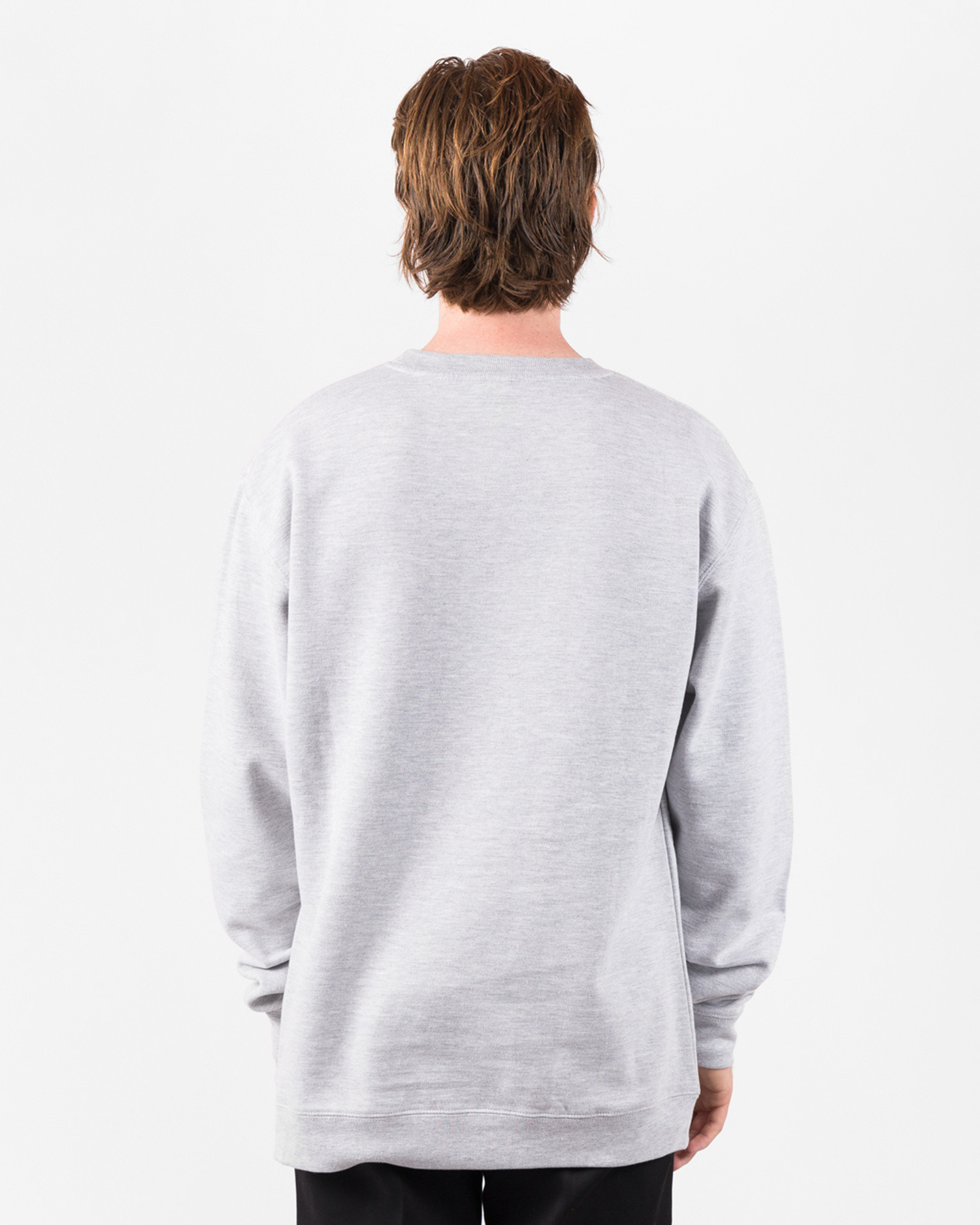 Fucking Awesome Vincent Class Photo Crewneck French Terry Heather Grey