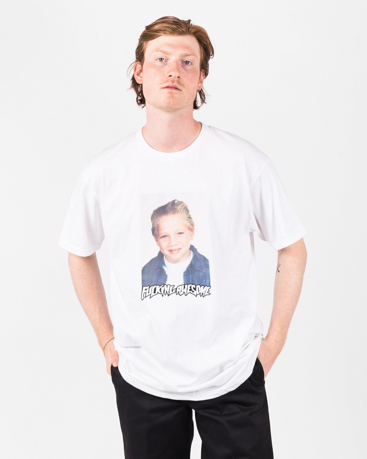 Fucking Awesome Vincent Class Photo Tee White