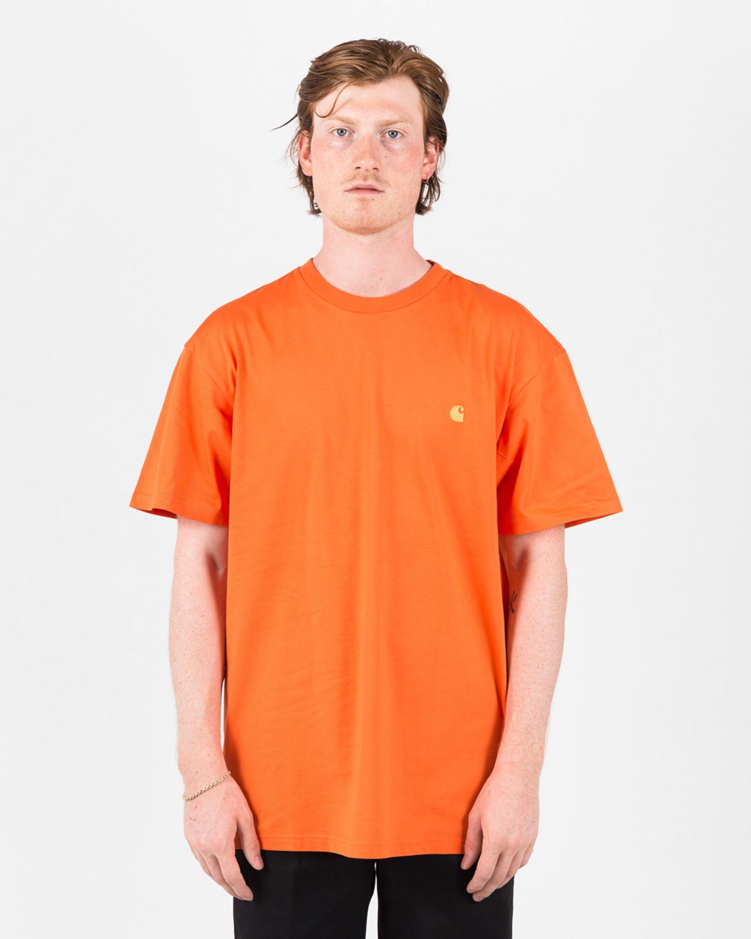 Carhartt Shortsleeve T-shirt Clockwork/Gold