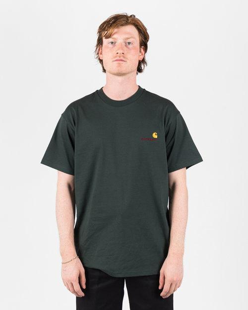 Carhartt Carhartt American Script T-Shirt Dark Teal