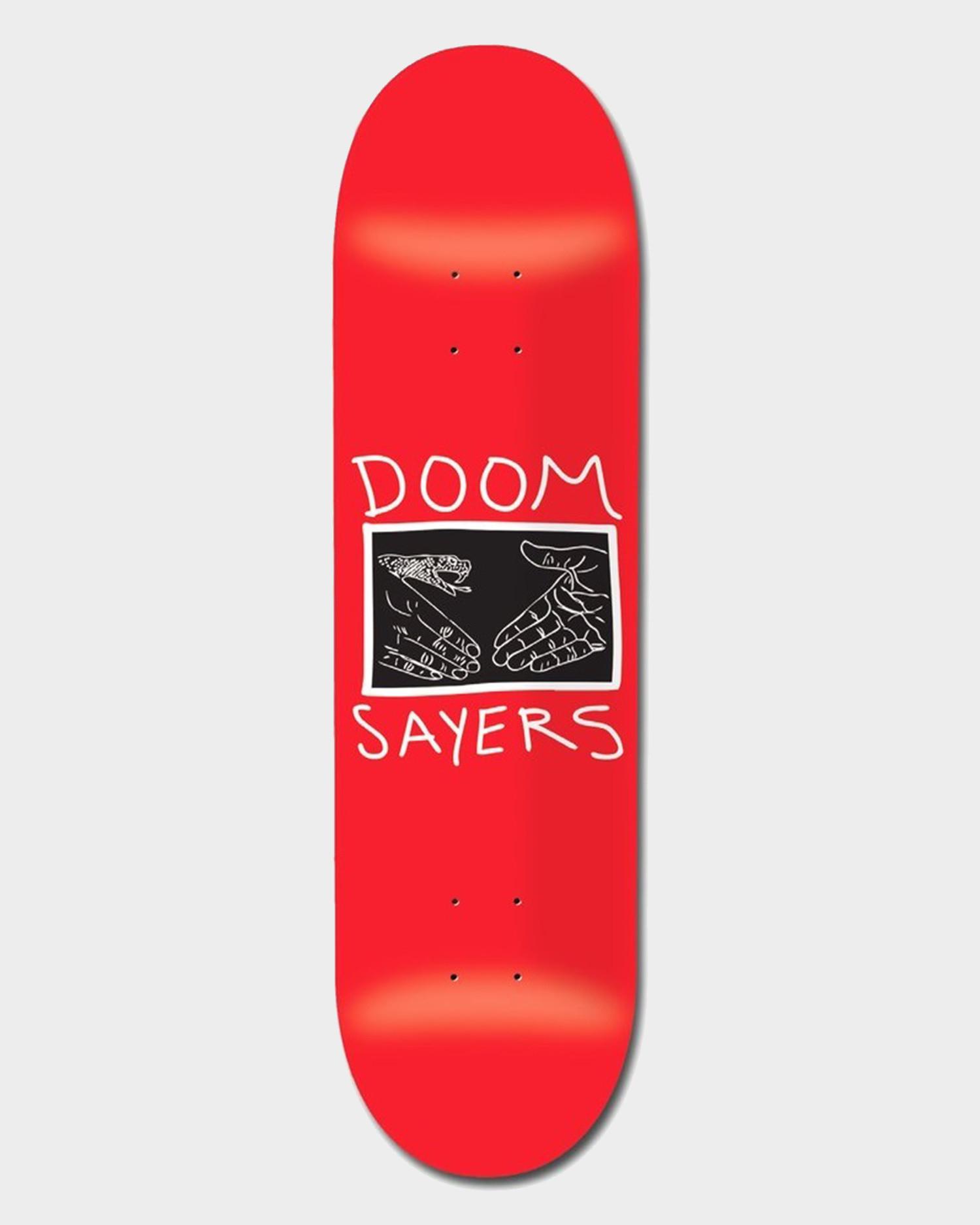 Doomsayers Deck Snake Shake Red 9