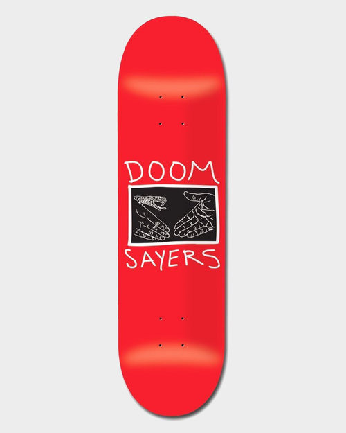 Doom Sayers Doomsayers Deck Snake Shake Red 9