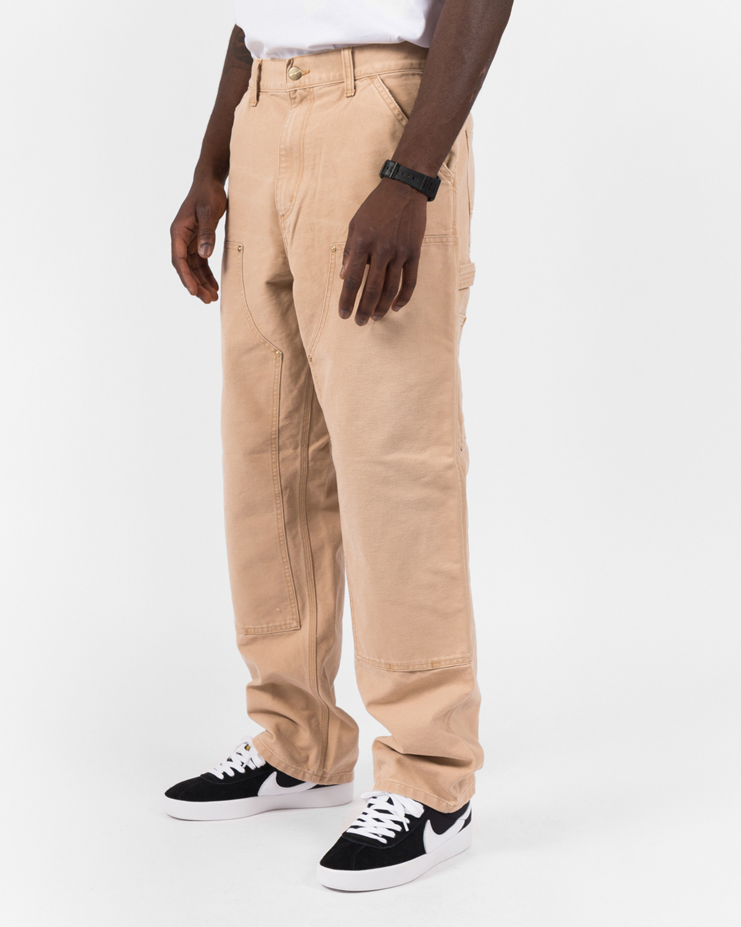 Carhartt Double knee pant Cotton Dusty H Brown