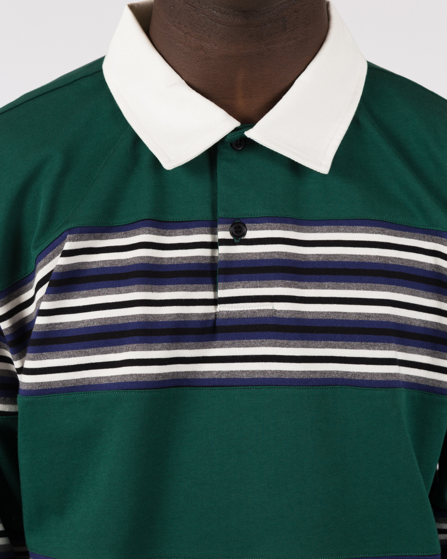 Futur MW G Fit Flush Polo Forest Green