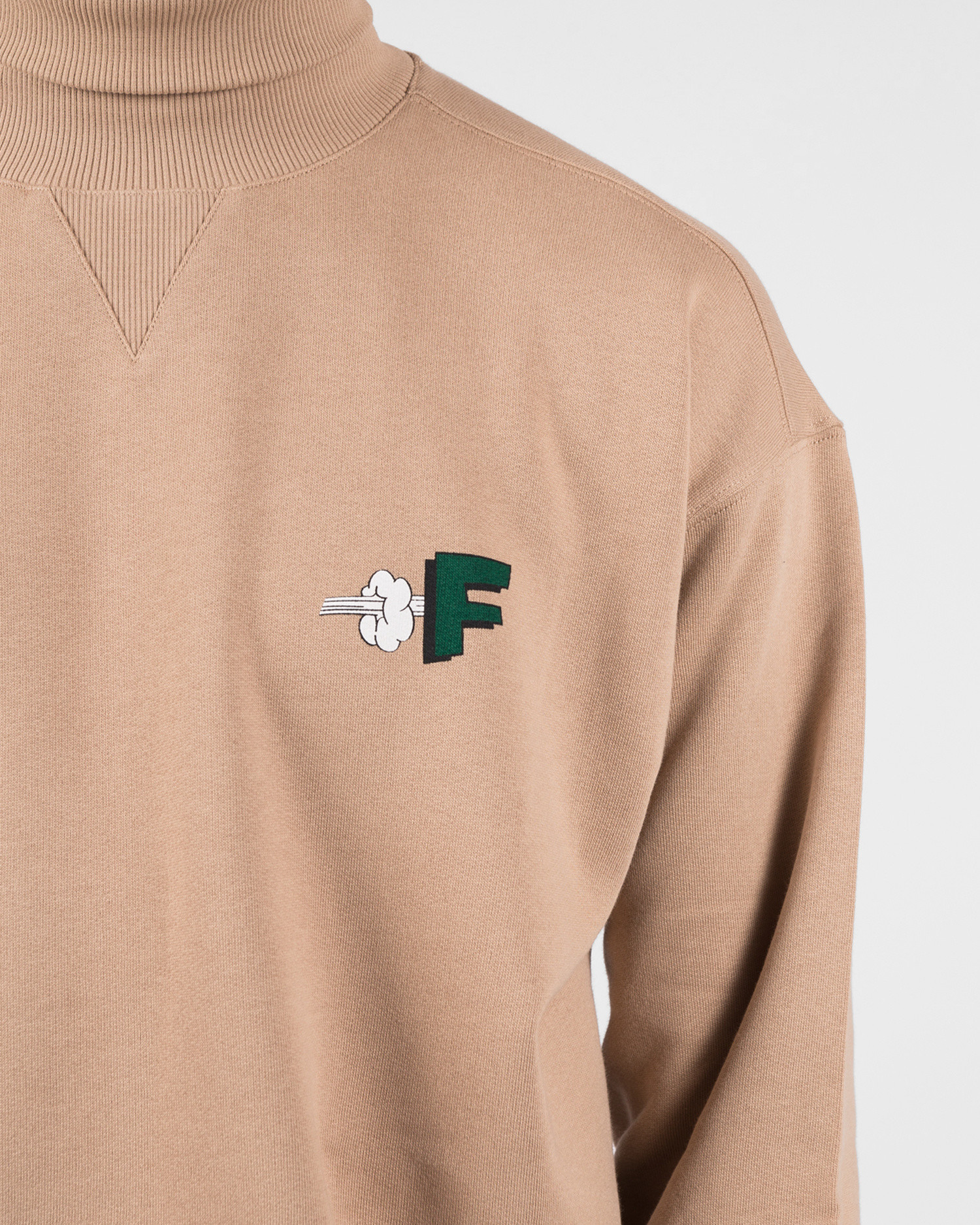 Futur F Pow G Fit High Neck Sand