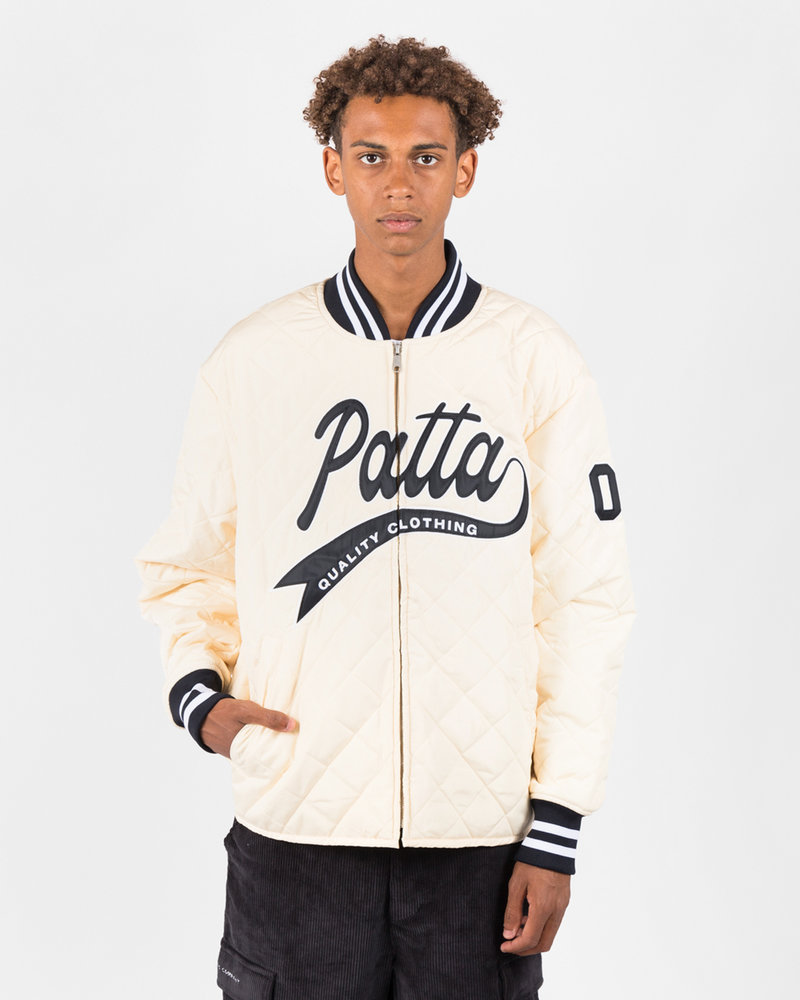 Patta Patta Sport Quilted Jacket Cloud Cream