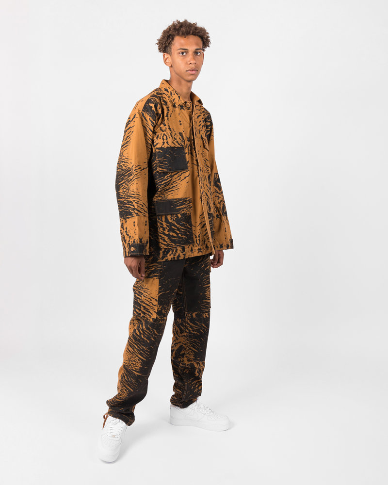 Patta Patta Water Camo Cargo Pants Brown Sugar/Black