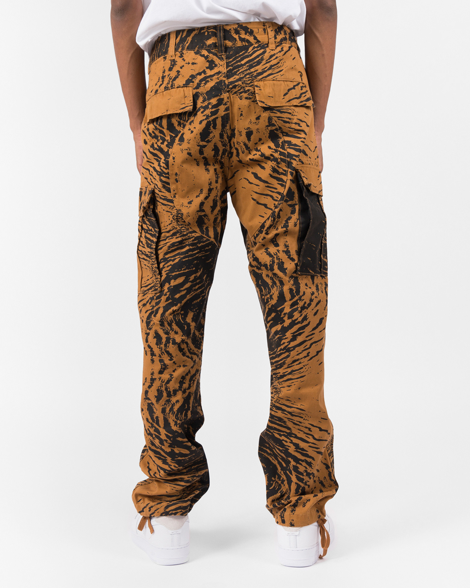 Patta Water Camo Cargo Pants Brown Sugar/Black