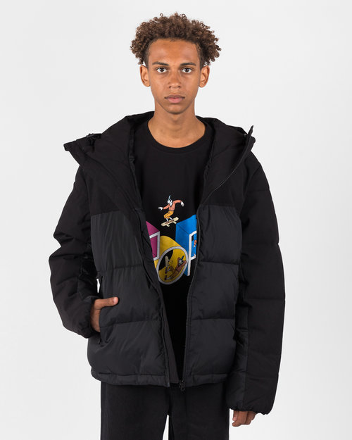 Pop Trading Co Pop Alex Padded Jacket Black