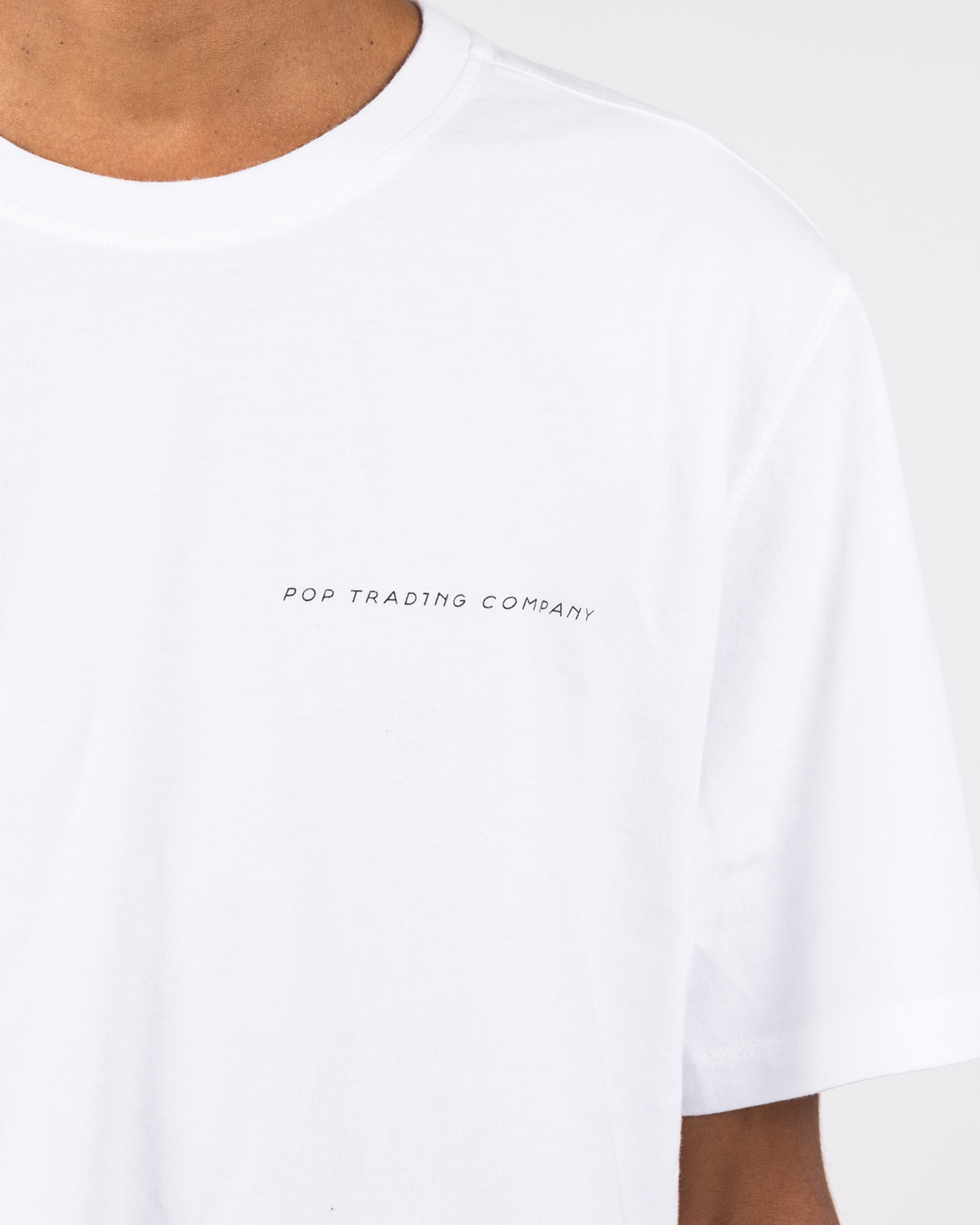 Pop Swarte T-shirt White