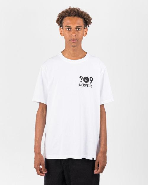 Parra Parra Nerveux T-Shirt White