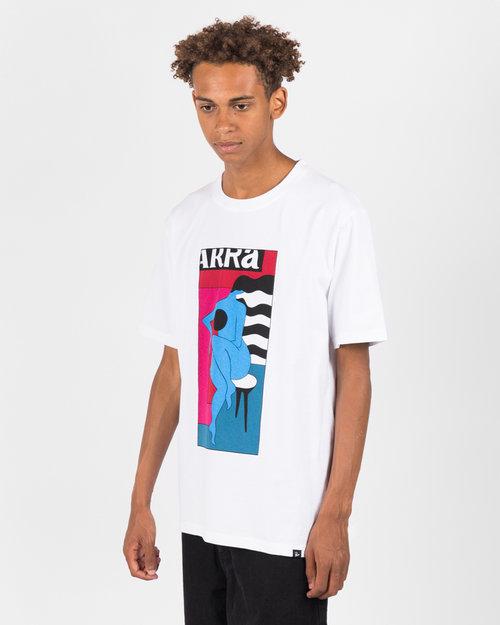 Parra Parra Bar Stool T-shirt White