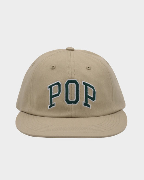 Pop Trading Co Pop Trading Company Arch 6 Panel hat Khaki