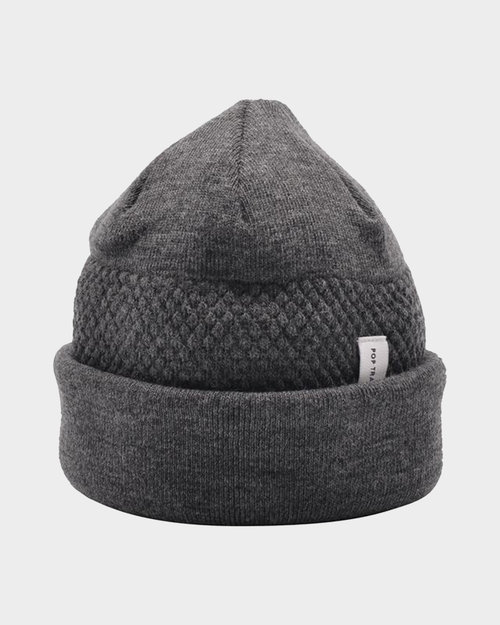 Pop Trading Co Pop Ist Beanie Anthracite